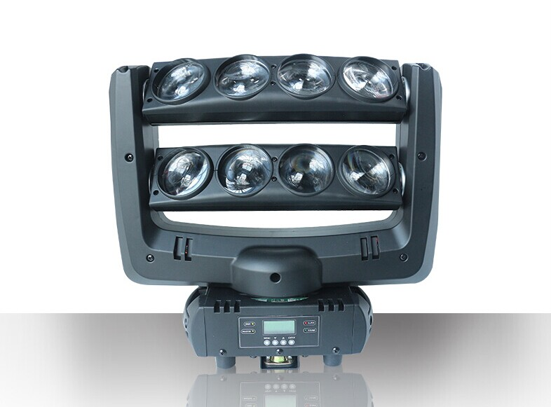 8x10W White Infinite LED Disco Light
