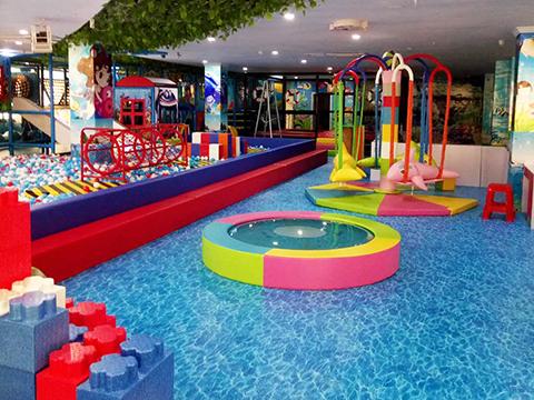 Customized Ocean Theme Kids Indoor Playground Equipment - XiuJiang ...