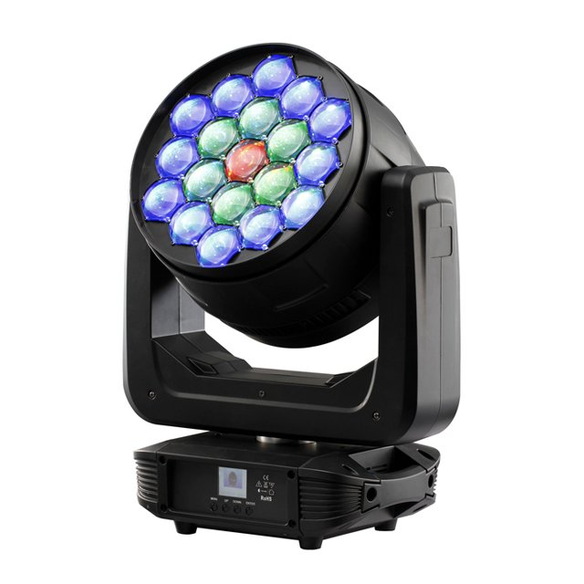 19x30W 4 in 1 LED Moving Head Zoom