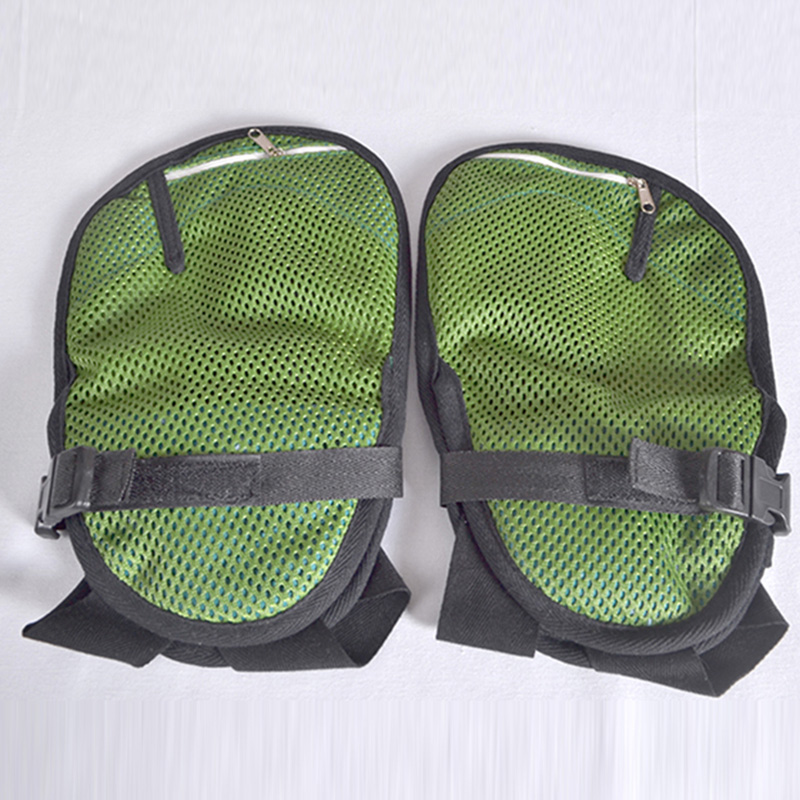 The lattice adds the cotton and kapok comfortable aperture medical against cupping senior citizen multi-purpose restraint gloves