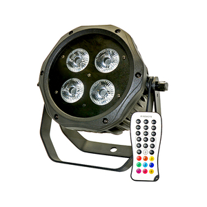 4x18W 6 in 1 Wireless Battery Outdoor LED Par