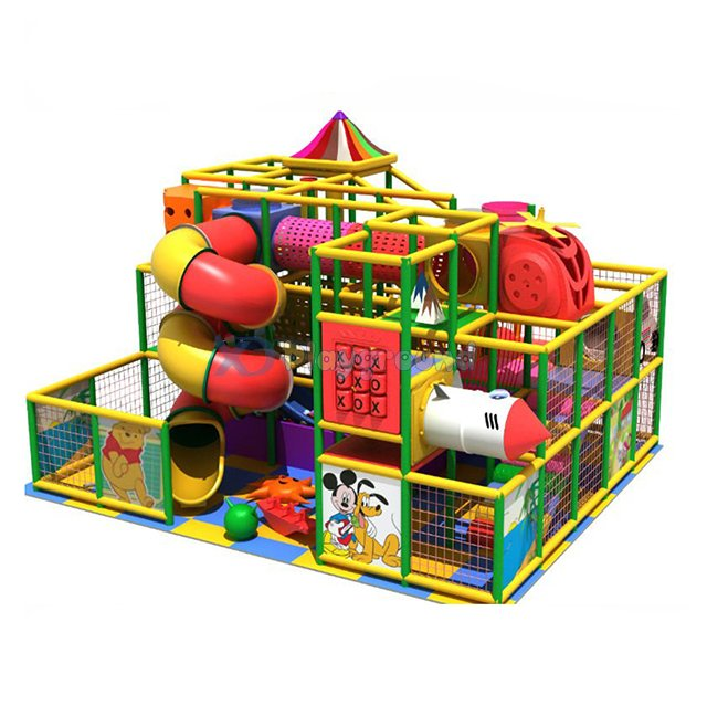 Commercial colouful theme park small kids indoor playgrounds from