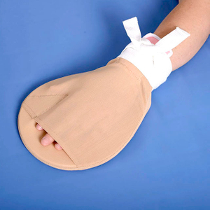 The medical hand fixed wrap (tension opens the mouth)