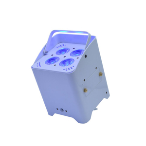4x15W RGBWA+UV Wireless battery rechargable LED Par Light