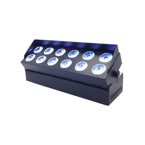12x18W RGBWA+UV Wireless Battery LED Bar Light