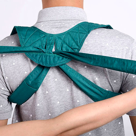 Adds the cotton and kapok shoulder to tie a belt approximately