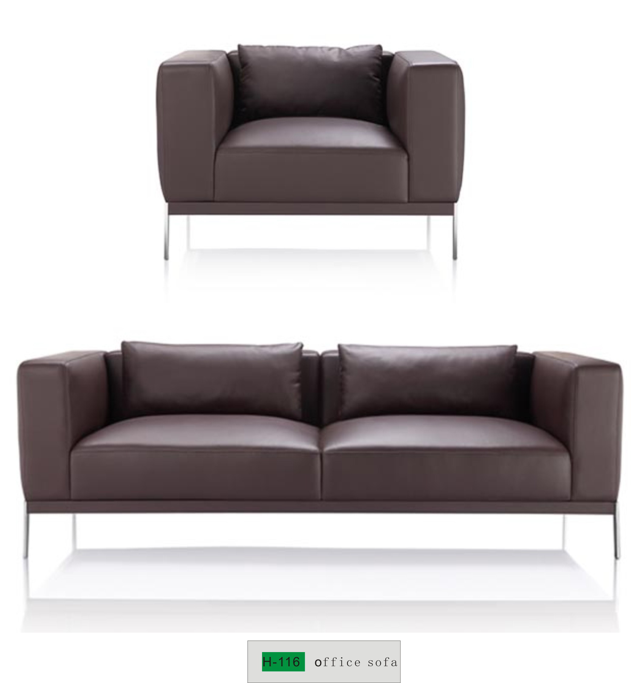 Three Seater Office Sofa H 116 Buy Office Visitor Sofa Office