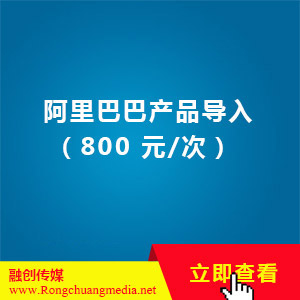 Alibaba product introduction (800 yuan/time)