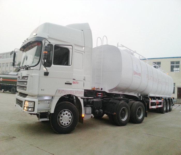 50,000 liters 3 axle bitumen insulation tank photo4