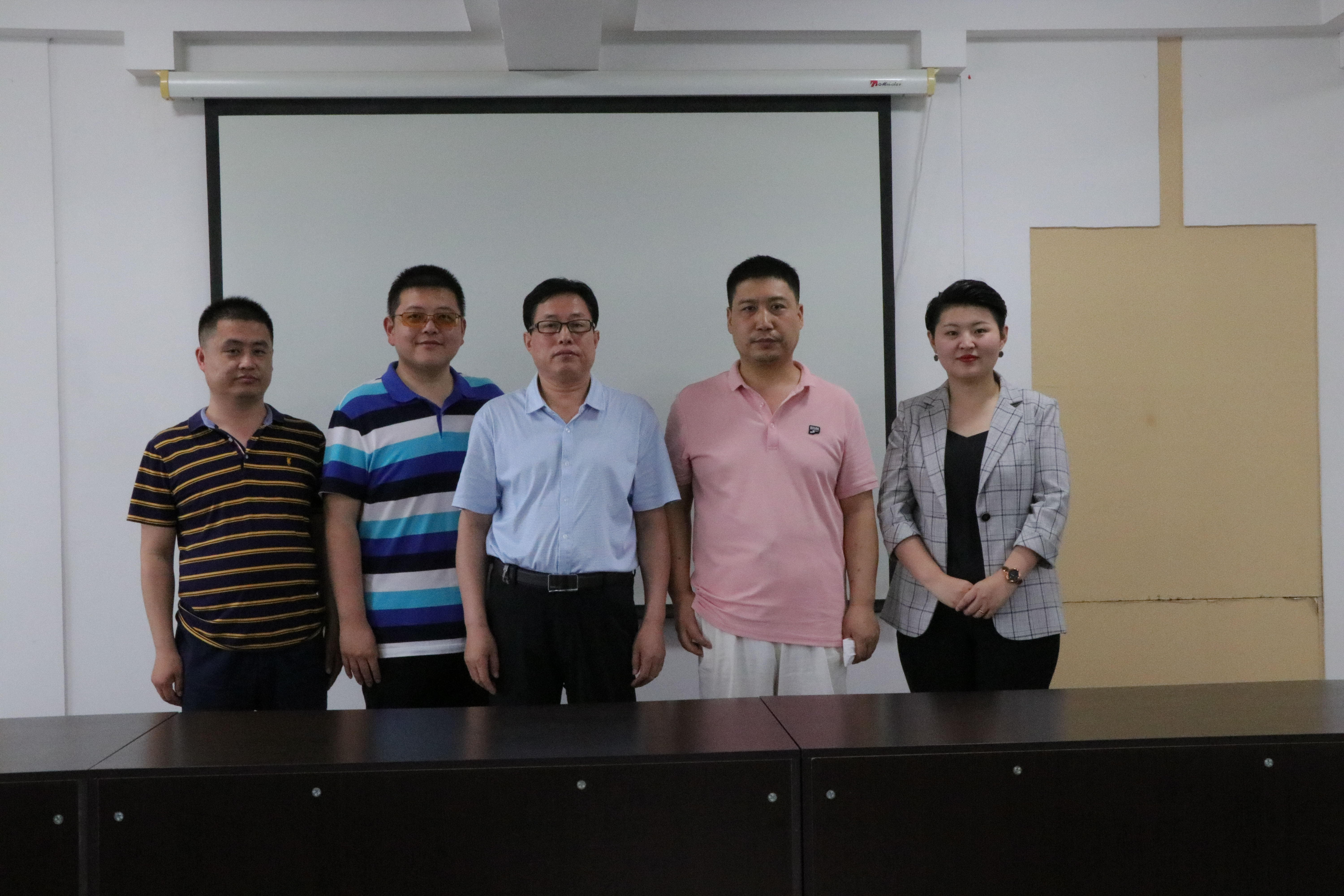 Anping County Wire Mesh Industry Foreign Trade Training