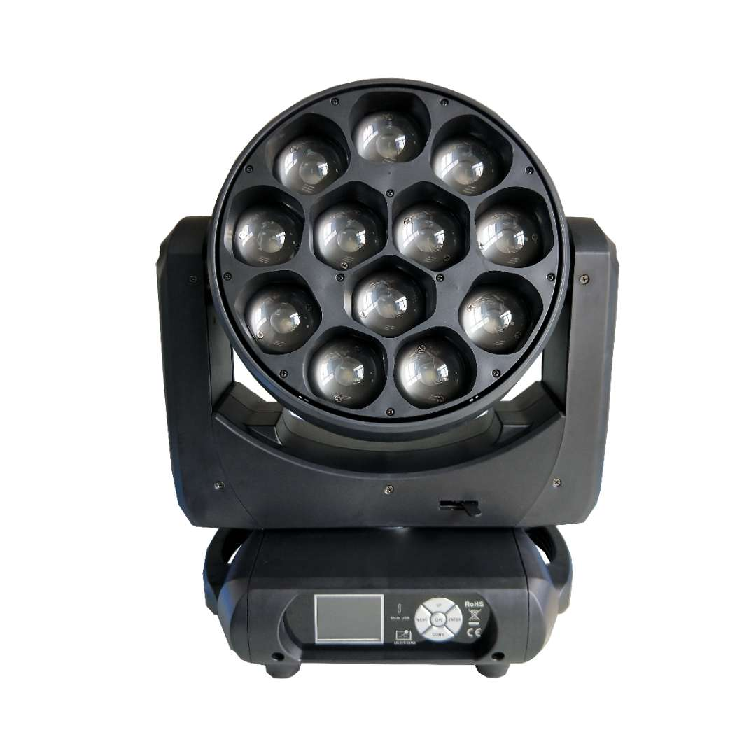 12x40W 4 in 1 OSRAM Moving Head Zoom